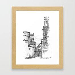 Bargello Framed Art Print
