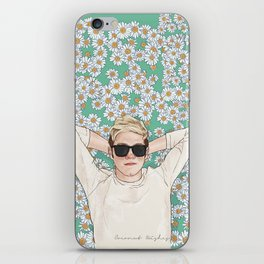 Niall daisies field iPhone Skin