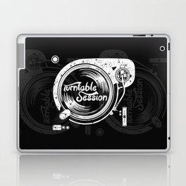 turntable session Laptop & iPad Skin