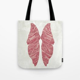 Abstract Butterfly Wings Design Tote Bag