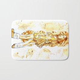 Coffee  Hero Bath Mat