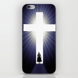 At the Foot of the Cross iPhone Skin