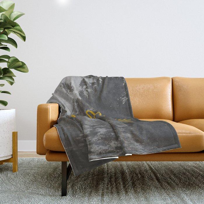 Explore (Arrow) Throw Blanket