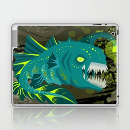 deep abyss light fish Laptop & iPad Skin