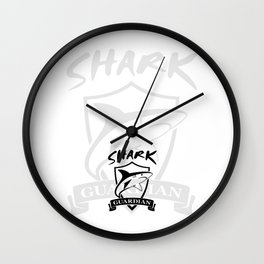 Official Logo - White Background - v1 Wall Clock