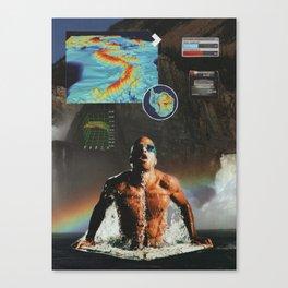 peak performance Canvas Print