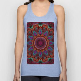 Kaleidoscope for moments of relaxation Unisex Tank Top
