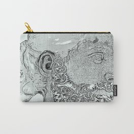 Hipster Neptune - Marble Carry-All Pouch