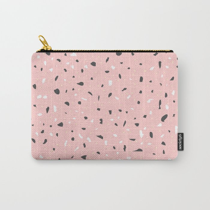 Granite (pink) Carry-All Pouch