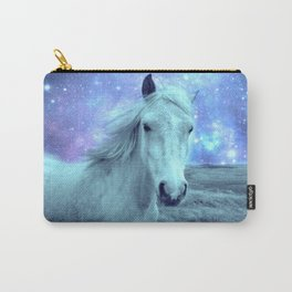 Blue Horse Celestial Dreams Carry-All Pouch