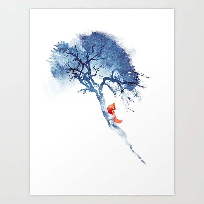 There's no way back Art Print