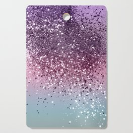 Unicorn Girls Glitter #6 #shiny #pastel #decor #art #society6 Cutting Board