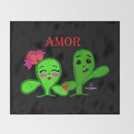 Amor Throw Blanket
