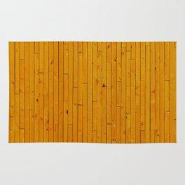 Wooden floor in other way Rug
