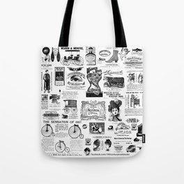 Vintage Victorian Ads Tote Bag