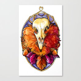 Autumn God Canvas Print