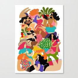 Sexting Canvas Print