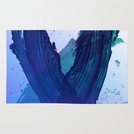 Atmospheric Blue Wings Rug