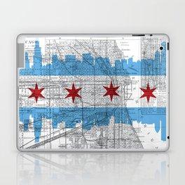 Chicago Map  Laptop & iPad Skin