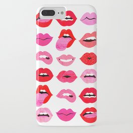 Lips of Love iPhone Case