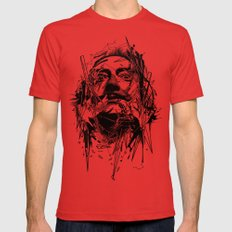 Dali Red Mens Fitted Tee LARGE