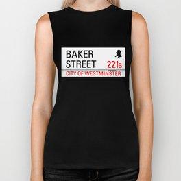 221B Baker Street Biker Tank