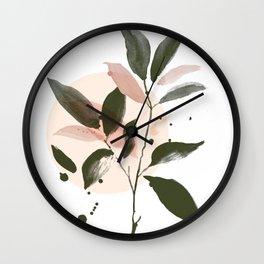 Magnolia Primavera Wall Clock
