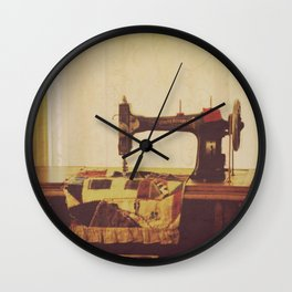 Vintage Victorian Sewing Room Wall Clock