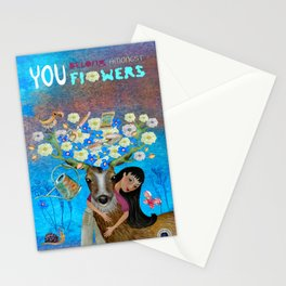 You belong amongst the Flowers Stationery Cards