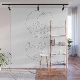 Mirroring Wall Mural