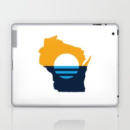 Wisconsin - People's Flag of Milwaukee Laptop & iPad Skin