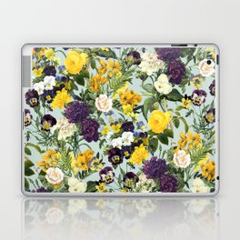 Floral C Laptop & iPad Skin