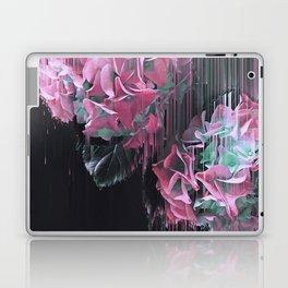 Glitch Pink Hydrangea Laptop & iPad Skin