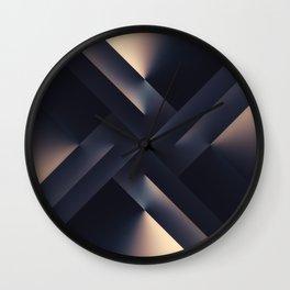 Dark Jewels Wall Clock