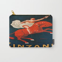Vintage poster - Cinzano Vermouth Torino Carry-All Pouch