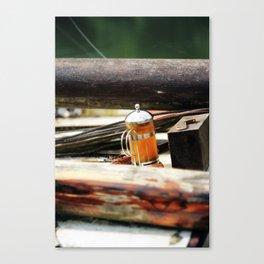 Teapod Canvas Print