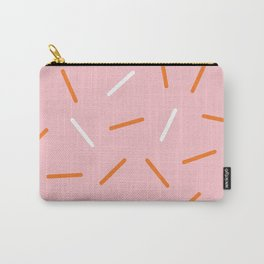 Pink Sprinkles Carry-All Pouch