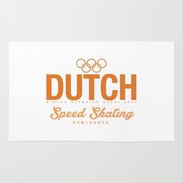 Dutch - Speed Skating Rug