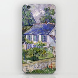 Vincent Van Gogh Houses At Auvers iPhone Skin