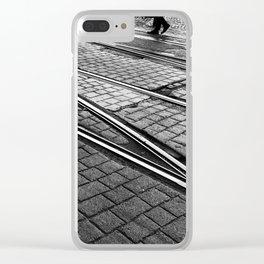Evening Commute Clear iPhone Case