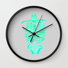 RAINBOW RIBCAGES Wall Clock