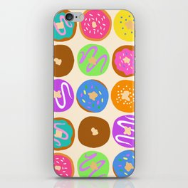 Donuts for Breakfast iPhone Skin