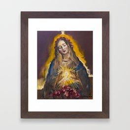 The Mystic Rose Framed Art Print