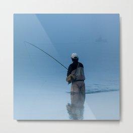mystic fly fishing Metal Print