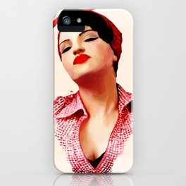Rockabilly Love iPhone Case