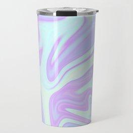 Unicorn Goo Liquid Holographic Texture Travel Mug