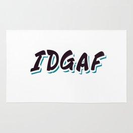 IDGAF Rug