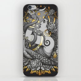 Tribal belly dancer witch iPhone Skin