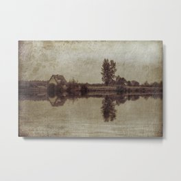 The old house on the lake Metal Print