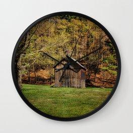 The Simple Barn Wall Clock